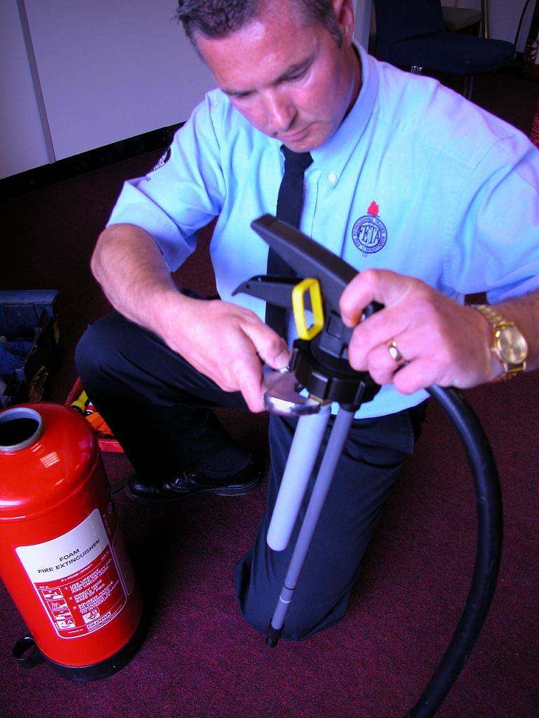 Cherwell Fire Safety Limited provide Fire extinguisher service, maintenance and refills