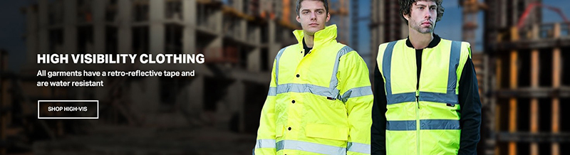 Cherwell Fire Safety supply a complete range of Hi-vis clothing all delivered direct to your door through our On-Line website SafetyBox